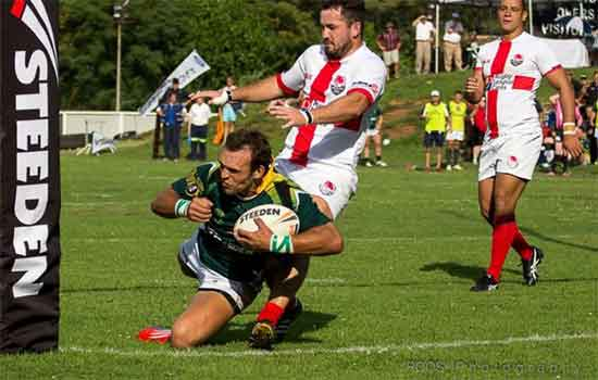 South African Rugby League Rhinos vs British Community Lions
