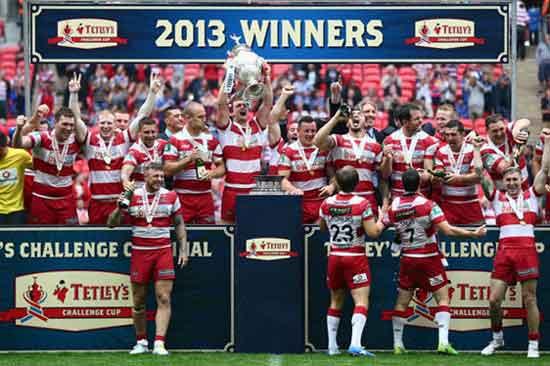 Wigan Warriors 2013 Super League Champions