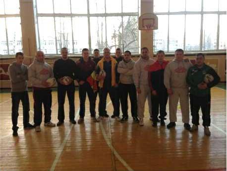 2015 Ukraine Rugby League training