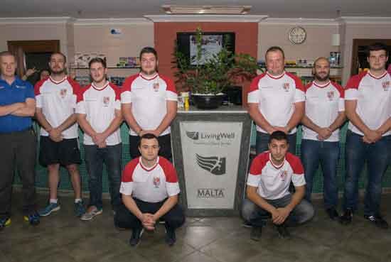 2015 Malta Rugby League squad
