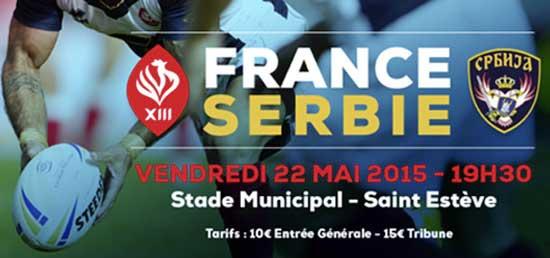France v Serbia 2015