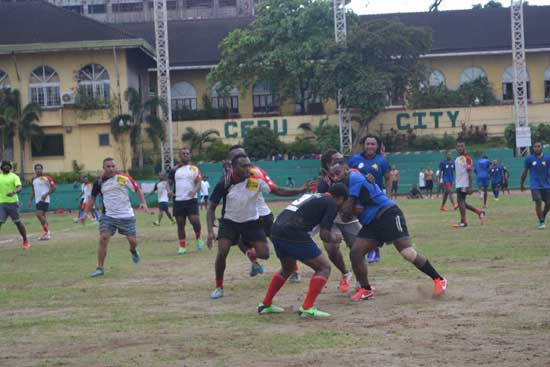 Independence Cup the 1st Rugby League tournament in Cebu City Philippines