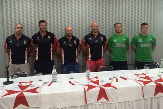 Malta v Ireland 2015 rugby league test