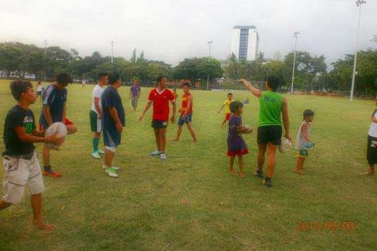 Luneta Park Training