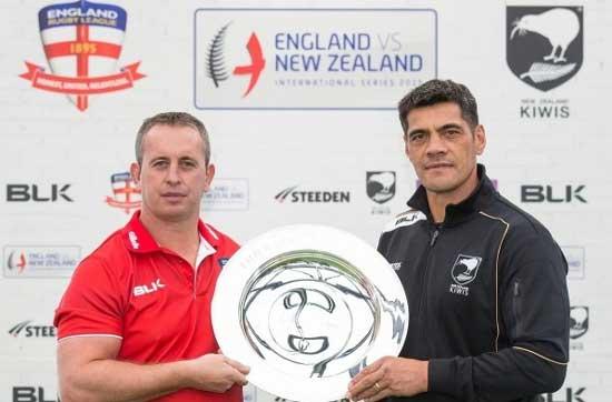 England v New Zealand 2015 Test Series