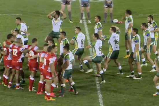 Tonga vs Cook Island 2015 Pacific Qualifier