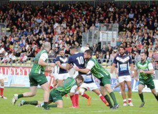 France vs Ireland in 2015 European Championship in Albi