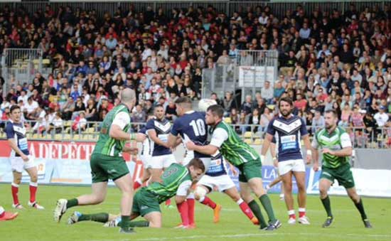 France vs Ireland in 2015 European Championship in Albi