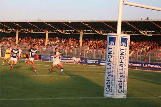 France v Scotland at Parc des Sports d'Avignon 2015