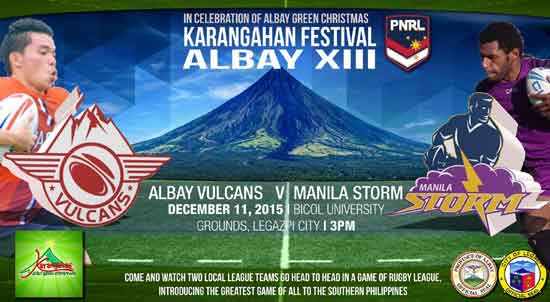 Manila V Albay 11th Dec 2015