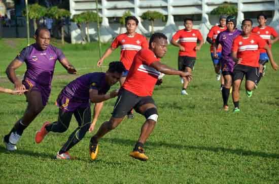 Albay v Manila in rugby league