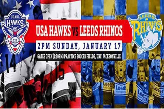 Leeds Rhinos V USA Hawks