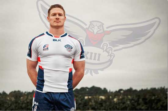 USA Hawks Captain Mark Offerdahl