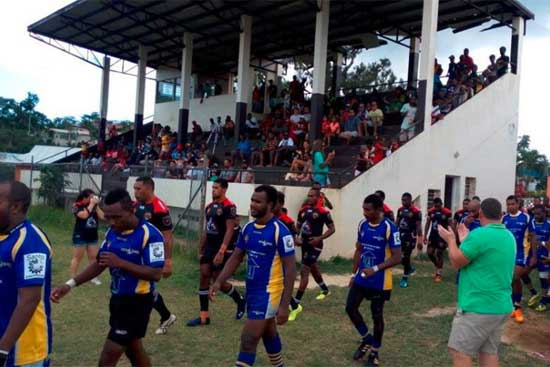 Port Vila Fire Ants v Santo Boars in annual Vanuatu SOO clash