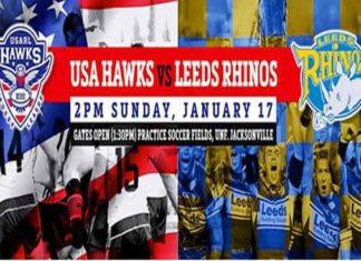 Leeds Rhinos v USA Hawks 2016