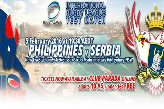 Serbia v Philippines 2016