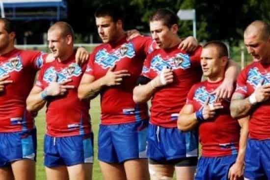 Serbian Rugby League Team