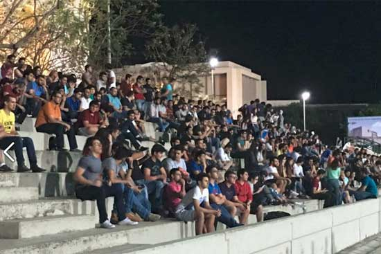 Large crowd on hand for Final