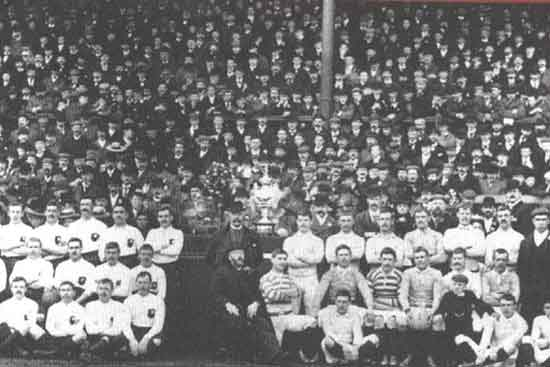 England vs Other Nationalities team in 1904