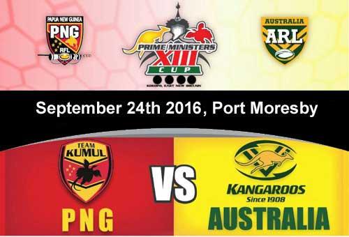 PM XIII PNG vs Australia 2016