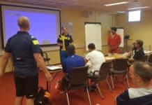 Swedish Rugby League coaching activity in Lund