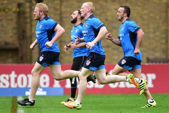 James Graham at England Team training