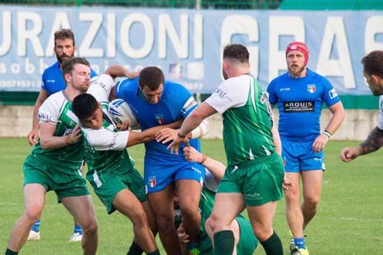 Ireland against Italy in September 2016