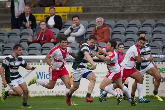 Ireland in action against Malta last week
