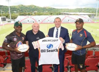 RLWC2017 announce oil search as tournament partner in PNG