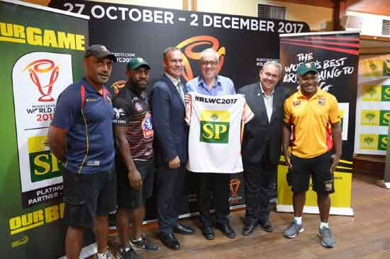 RLWC2017 announce SP Brewery as tournament Partner in PNG