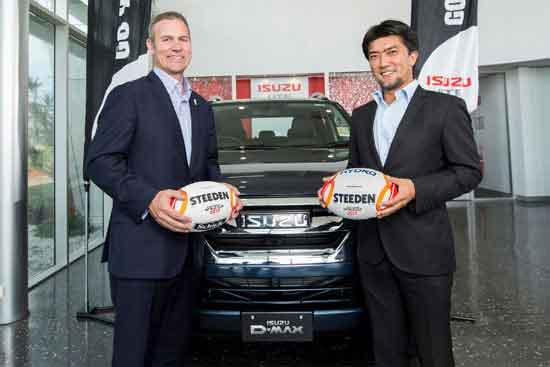 RLWC2017 unveils Isuzu UTE Australia as a Major Partner