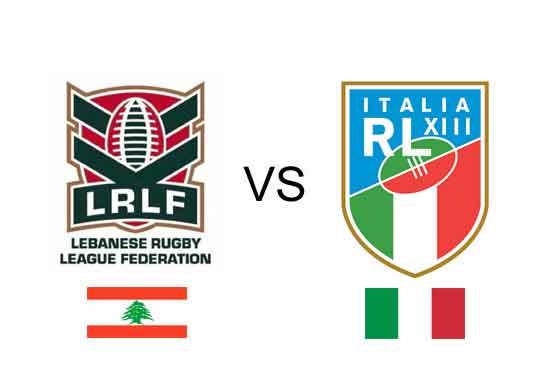Lebanon v Italy in 2017 Mediterranean Cup