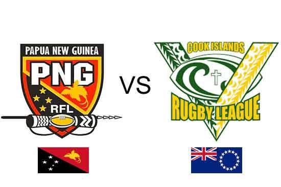 Papua New Guinea vs Cook Islands