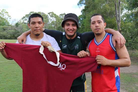 Oscar Mendoza, Sebastian Martinez, Trent Millar - three of the leading players for the Queensland squad