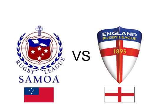 England vs Samoa