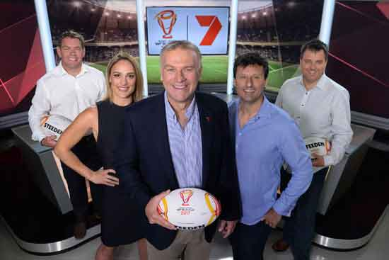 Channel 7 Rugby League World Cup 2017 Team
