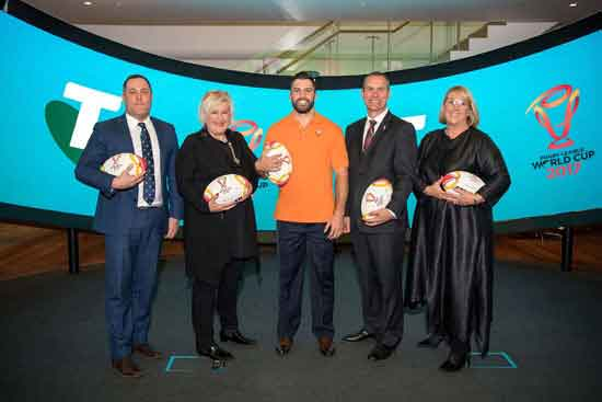 Telstra jump on board as the Official Telecommunications and Technology Partner of the RLWC2017