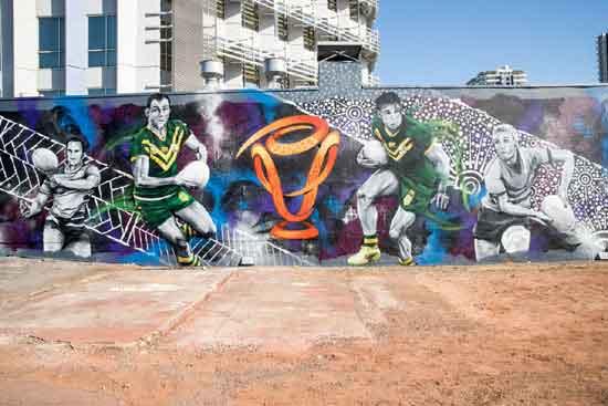 Darwin RLWC2017 Mural