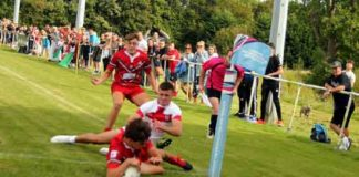 Wales v England under 16's Rugby League