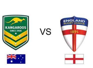 Australia v England 2017 RLWC