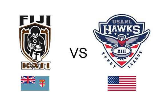 USA vs Fiji RLWC2017