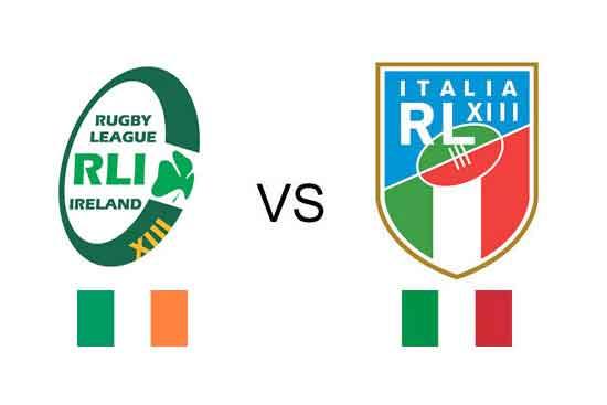 Ireland v Italy 2017 RLWC