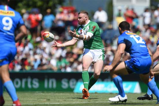 Ireland upset Italy in World Cup match
