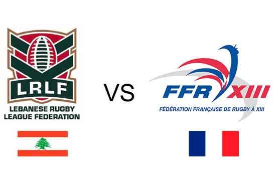 France v Lebanon 2017 RLWC