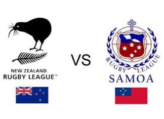 New Zealand v Samoa 2017 RLWC