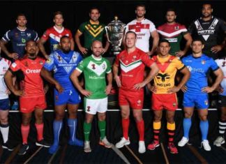 2017 Rugby League World Cup Teams