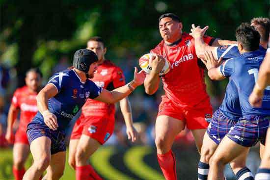 Tonga defeat Scotland in RLWC