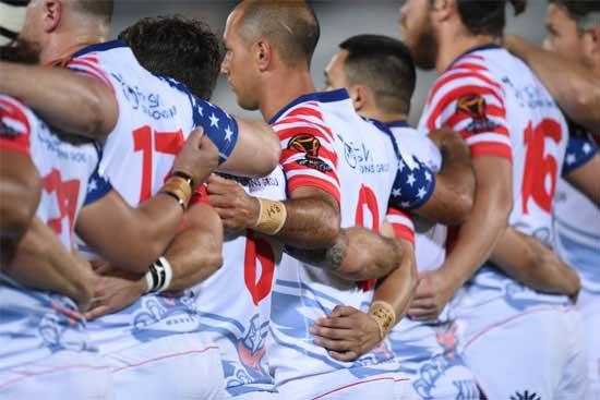 USA vs Italy 2017 RLWC