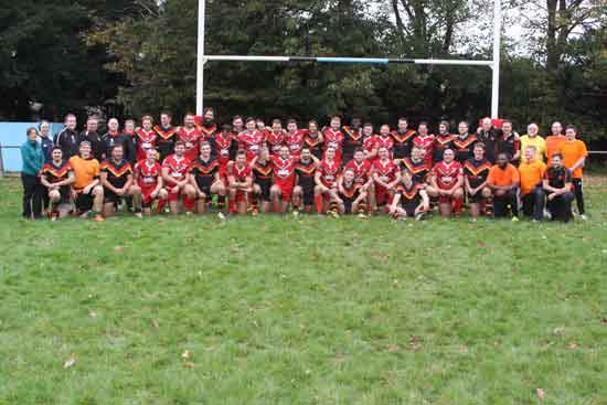 Wales Dragonhearts and Germany 2017