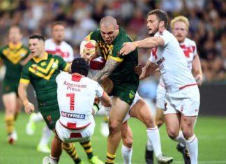 Australia v England 2017 RLWC Final